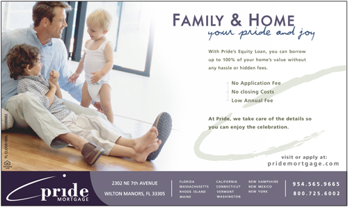 An Advertisement Design for Pride Mortgage