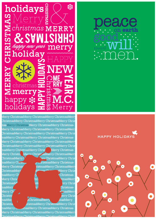 Pish Posh Shop: Holiday Cards
