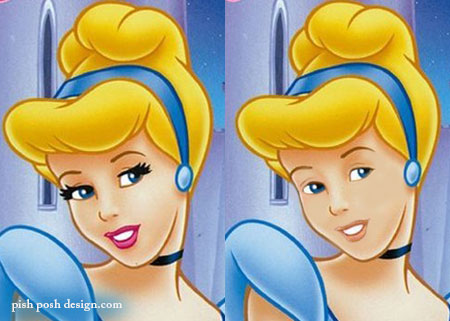 cinderella without makeup